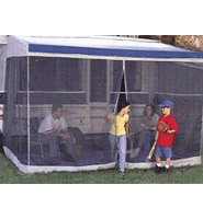 Dometic A&E 13 ft Extra Tall Trim Line Screen Room with Privacy